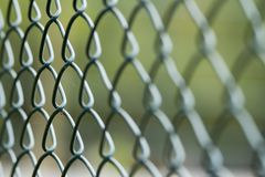 Wire mesh to enclose and protect royalty free stock images