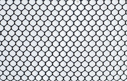 Wire mesh. On white background Royalty Free Stock Photo