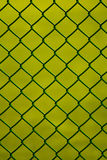 Wire metal fence Royalty Free Stock Images