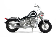 Wire motorcycle. Motorcycle model made of wire Royalty Free Stock Photo
