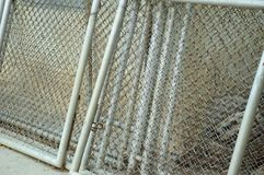 Wire net steel Stock Photography