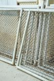 Wire net steel Royalty Free Stock Images
