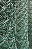 Wire netting. Green wire netting in rolls Royalty Free Stock Images