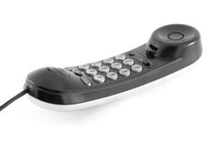 Wire phone Royalty Free Stock Image