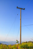 Wire pole Royalty Free Stock Image