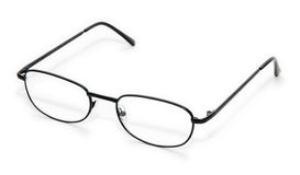 Wire rim glasses Stock Photos
