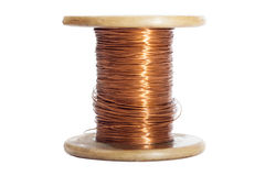 Wire roll Royalty Free Stock Photo