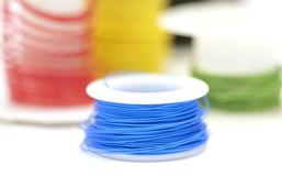 Wire Rolls Royalty Free Stock Photos