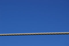 Wire rope Royalty Free Stock Photography