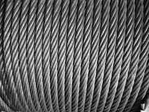 Wire rope cable Royalty Free Stock Photos