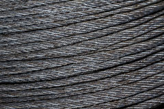 Wire rope. Stock Photography
