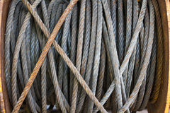 Wire rope Royalty Free Stock Image