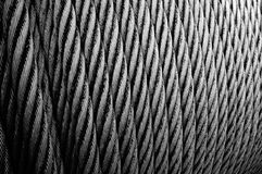 Wire rope pattern Stock Images