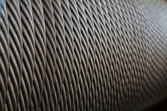 Wire rope texture Stock Image