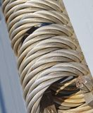 Wire rope texture Stock Photography