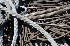 Wire ropes Stock Image