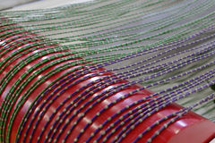 Wire saw used for stone cutting machine Royalty Free Stock Photo
