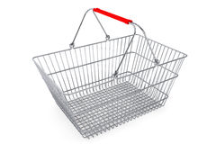Wire shopping basket Stock Photography