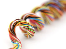 Wire sipiral Stock Photo