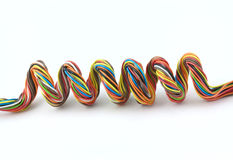 Wire spiral Royalty Free Stock Photo