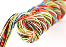 Wire spiral Stock Photography