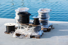 Wire spool Royalty Free Stock Image