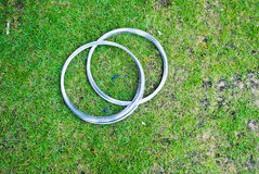 Wire steel Royalty Free Stock Images