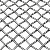 Wire steel net close-up Royalty Free Stock Image