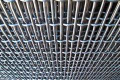 Wire steel net Royalty Free Stock Images