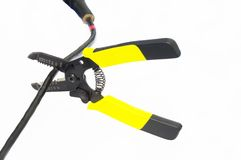Wire stripper Royalty Free Stock Images