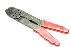 Wire stripper Royalty Free Stock Photography