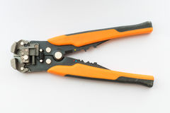 Wire strippers, close-up Stock Photos