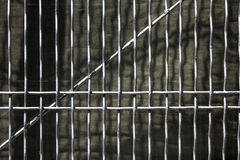 Wire texture. Vertical wire fence texture detail Stock Image