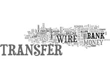 Wire Transfers The Easiest Way To Send Money Word Cloud. WIRE TRANSFERS THE EASIEST WAY TO SEND MONEY TEXT WORD CLOUD CONCEPT Stock Image