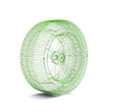 Wire wheel Stock Image