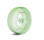 Wire wheel Stock Image