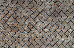Wire and wood background. Stock Images