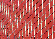 Wire & Wood Fence Royalty Free Stock Photography