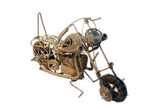 Wire wound easy rider chopper Royalty Free Stock Photography