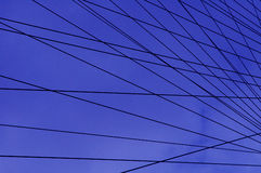 Wired. Part of the london eye Stock Photo