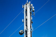Wired antenna Stock Images