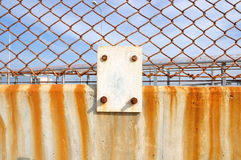 Wired fence Stock Images