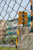 Wired fence. The wired fence with the border crossing background royalty free stock images