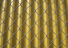Wired Fence Background Royalty Free Stock Photos