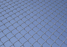 Wired Fence Background Stock Image
