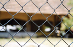 Wired fence Royalty Free Stock Photography