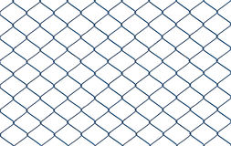 Wired fence isolated on white background. The old wire fence with rust isolated on white background royalty free stock photography