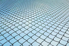 Wired fence Royalty Free Stock Image