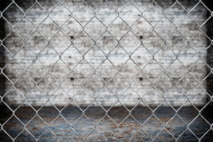 Wired fence pattern Royalty Free Stock Images