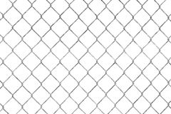 Wired fence pattern Royalty Free Stock Photos